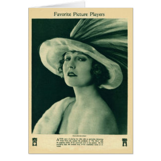 Doris Pawn 1923 vintage portrait card