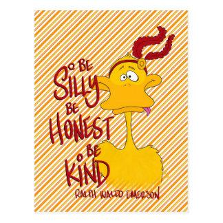 Doris the Duck, postcard