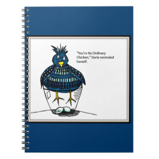 Doris the Extraordinary Chicken Notebook