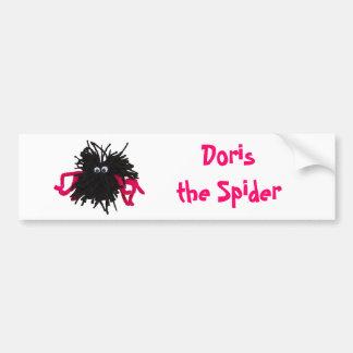 Doris the Spider Bumper Sticker