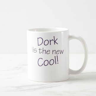 Dork is the New Cool Basic White Mug