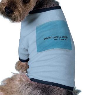 Dork Ringer Dog Shirt