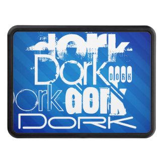 Dork; Royal Blue Stripes Hitch Covers