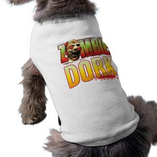 Dork Zombie Head Pet Clothes