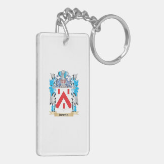 Dorks Coat of Arms - Family Crest Rectangular Acrylic Key Chains