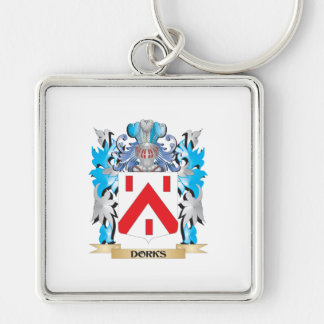 Dorks Coat of Arms - Family Crest Keychains