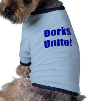 Dorks Unite Pet T-shirt