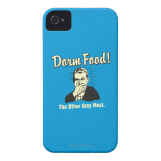 Dorm Food: Other Grey Meat Case-Mate iPhone 4 Cases