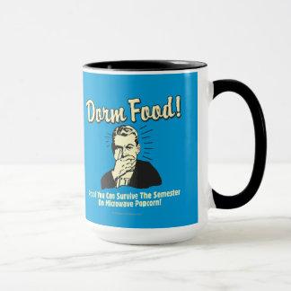 Dorm Food: Survive Microwave Popcorn Mug
