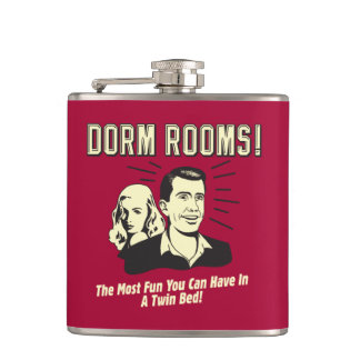 Dorm Room: Most Fun Twin Bed Hip Flask