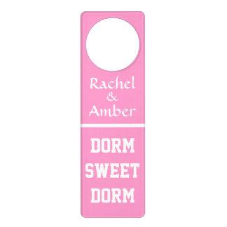 Dorm Sweet Dorm ~ Original Girly Door Knob Hanger