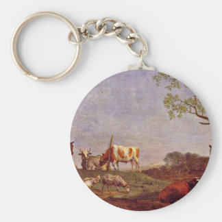 Dormant Foci By Potter Paulus (Best Quality) Basic Round Button Key Ring