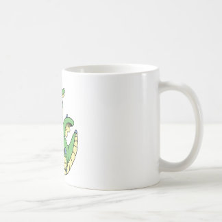 Dormie the baby dragon basic white mug