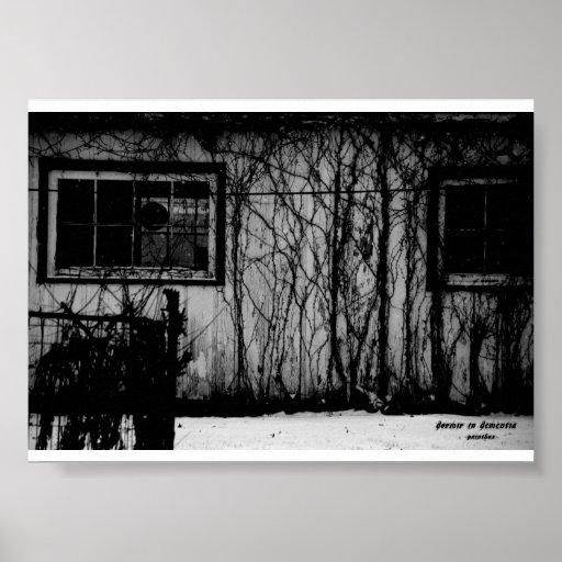 Dormir in Dementia Paintbox Poster