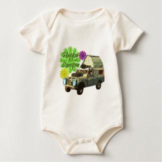 Dormobile Happy Camper Baby Bodysuit