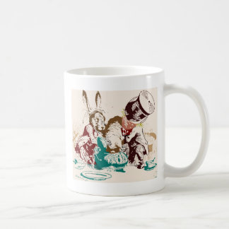 Dormouse in the Teapot Mad Tea Party Coffee Mugs