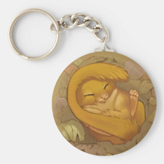 Dormouse Keychain
