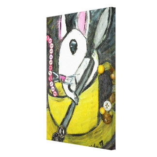 Dormouse Wrapped Canvas