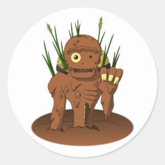 Dorotabou (Mud Zombie) Round Sticker
