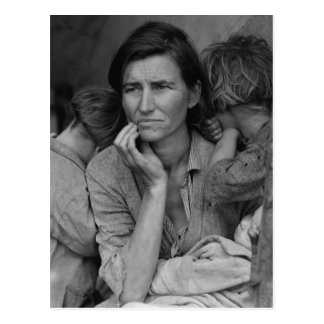 Dorothea Lange s Migrant Mother Florence Thompson Postcards