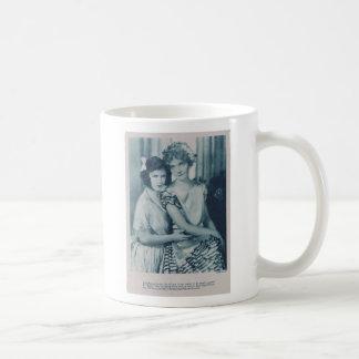 Dorothy and Lillian Gish 1924 Basic White Mug