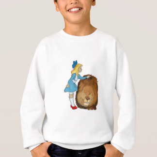 dorothy and the lion sweatshirt
