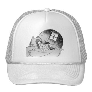 Dorothy and Toto Mesh Hats
