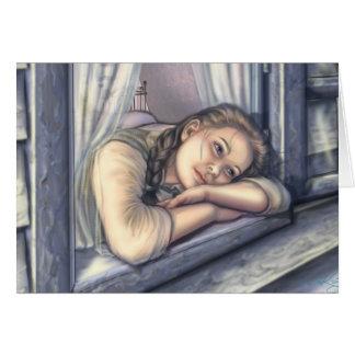 Dorothy Dreams on the Kansas Prairie Greeting Card