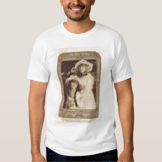 Dorothy Gish Lillian Gish 1917 Tshirts