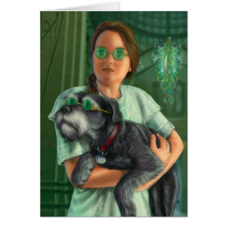 Dorothy in the Emerald City Card