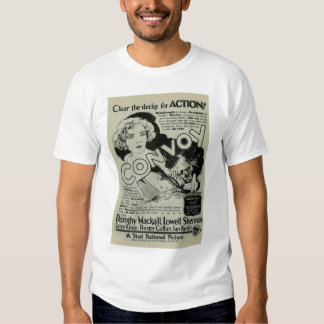 Dorothy Mackaill 1927 vintage movie poster T-shirt
