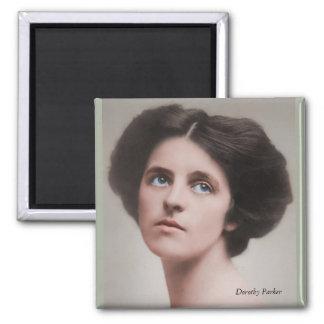 Dorothy Parker 1893-1967 Square Magnet