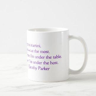 Dorothy Parker I Love a Martini Mug