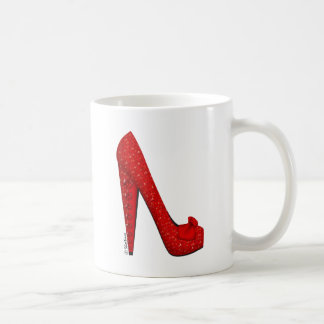 Dorothy Ruby Pump Coffee Mug