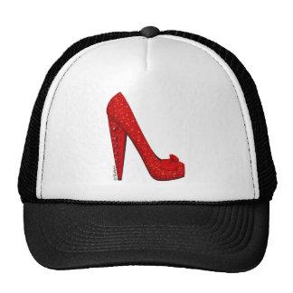 Dorothy Ruby Pump Hat