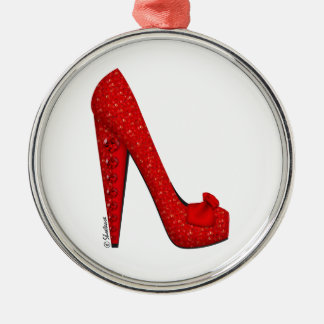 Dorothy Ruby Pump Holiday Ornament