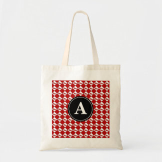 Dorothy Ruby Slippers Pattern Monogram Tote Bag