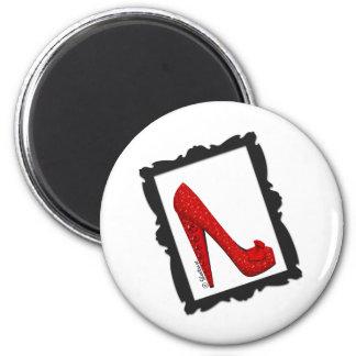 Dorothy s Framed Ruby Red Heels Magnets