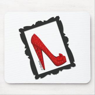 Dorothy s Framed Ruby Red Heels Mousepads