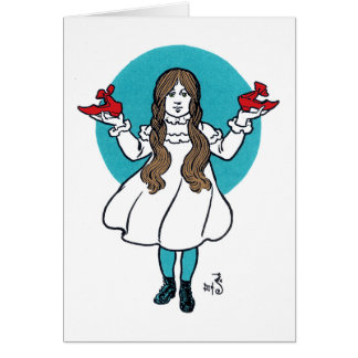 Dorothy: The Wonderful Wizard of Oz Greeting Cards