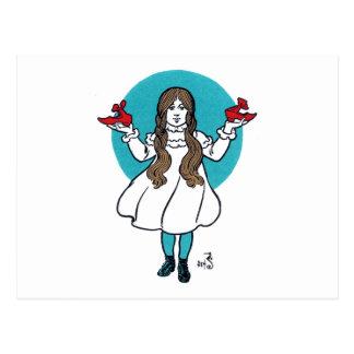 Dorothy: The Wonderful Wizard of Oz Postcard