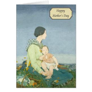 Dorothy Webster Hawksley - Vintage Mother's Day Greeting Card