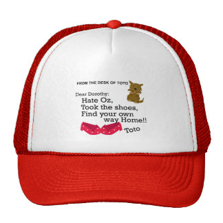 Dorothy Wizard of Oz Funny Shirt Hat