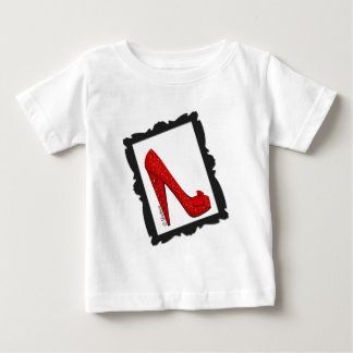 Dorothy's Framed Ruby Red Heels Baby T-Shirt