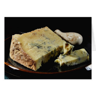 Dorset Blue Vinny (Vinney) Cheese Card