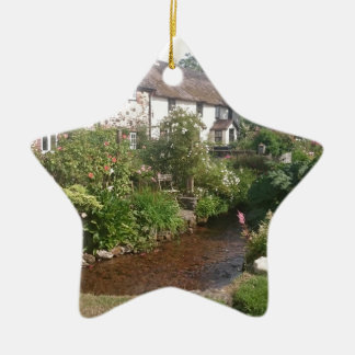 Dorset Cottage, England Christmas Ornament