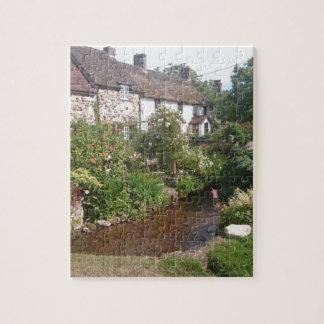 Dorset Cottage, England Jigsaw Puzzle