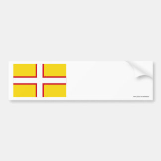Dorset Flag Bumper Sticker