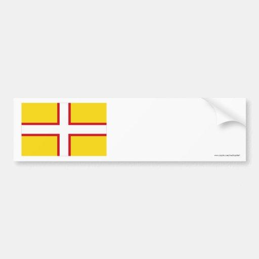 Dorset Flag Bumper Stickers