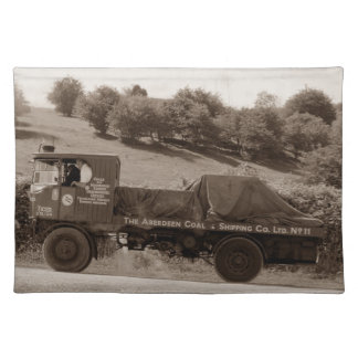 Dorset Steam Fair Sentinel Wagon Tiger Placemat